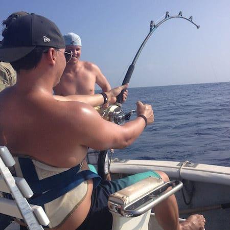 Deep Sea Fishing Kauai, Fighting Chair