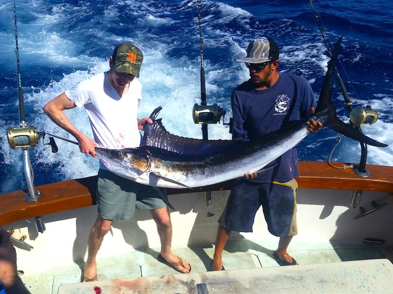 Sailfish Catch on Captain J's