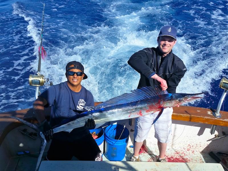 Sailfish catch Kauai