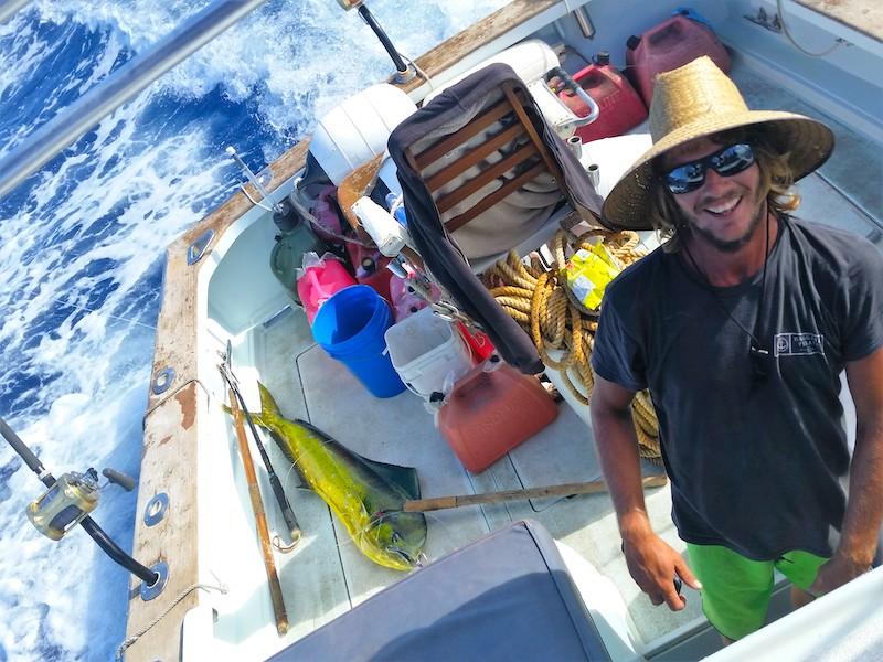 Mahi Mahi catch, Kauai