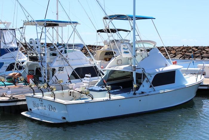 Deep Sea Fishing Charters Boats, Port Allen Harbor