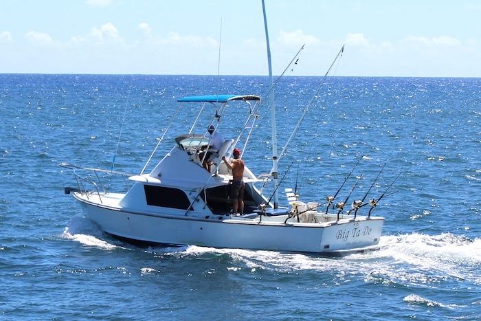 Big Ta Do fishing boat on Kauai