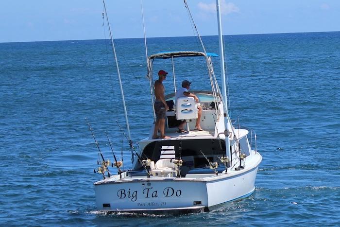 Big Ta Do, Port Allen Kauai fishing boat