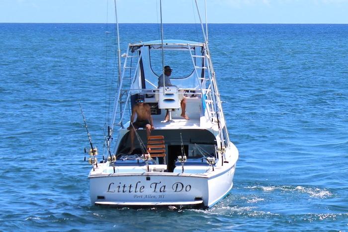 Little Ta Do, Port Allen Kauai fishing boat