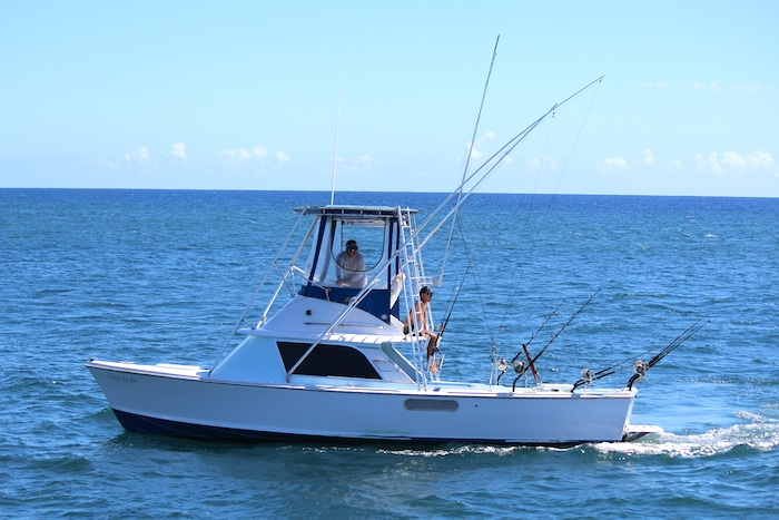 Big Ta Do, Kauai fishing boat