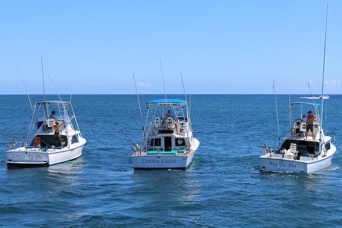 Deep Sea Fishing Kauai fleet