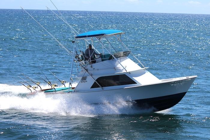 Connie Claire, Port Allen fishing boat Kauai