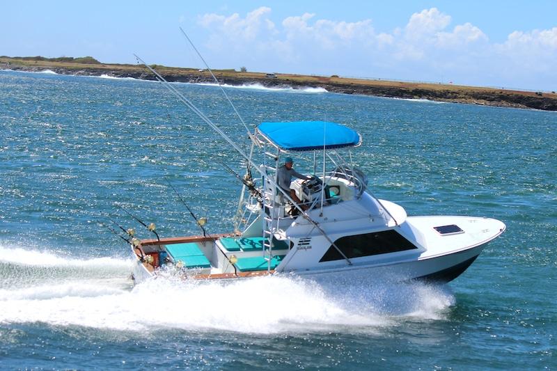 Connie Claire, a Kauai fishing charter boat