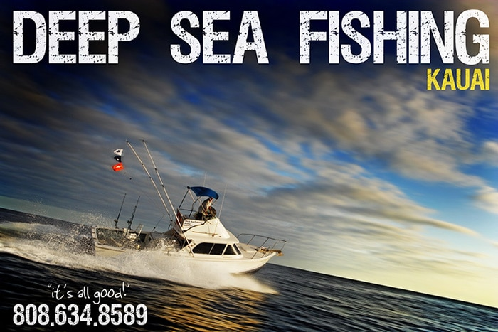 Deep Sea Fishing Kauai