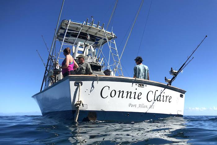 Connie Claire, port allen Kauai fishing boat